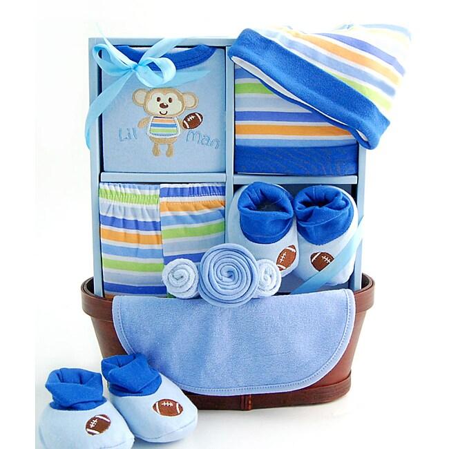 Sweet Baby Boy Gift Basket