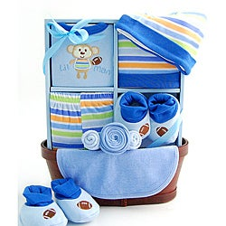Sweet Baby Boy Gift Basket