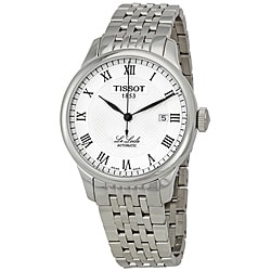 Tissot Men's 'Le Locle' Silvertone Textured Dial Watch