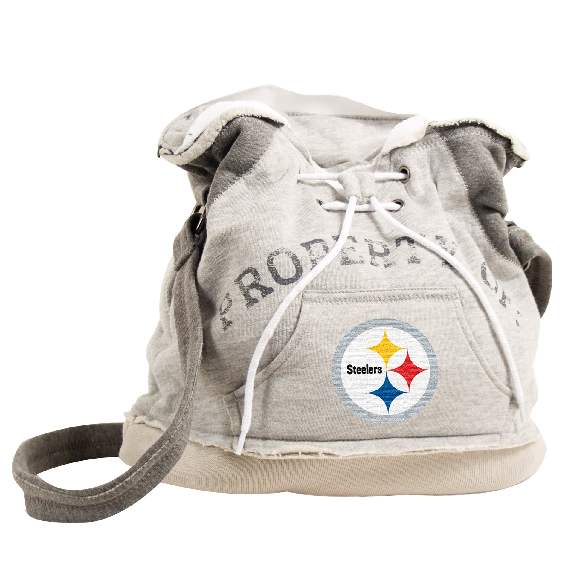 Pittsburgh Steelers Hoodie Shoulder Tote