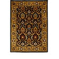 Tempest Hand-tufted Brown/ Gold Area Rug (8' x 11')