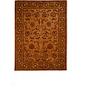 Tempest Hand-tufted Brown Area Rug (8' x 11')