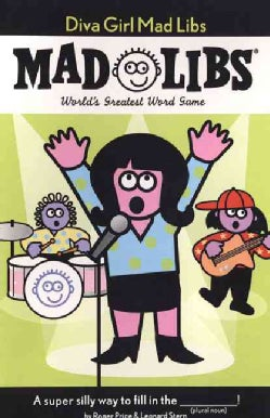 Diva Girl Mad Libs (Paperback)