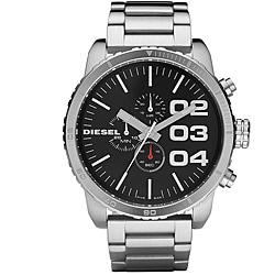 Diesel Men's Round Chronograph Stainless Steel Bracelet Watch