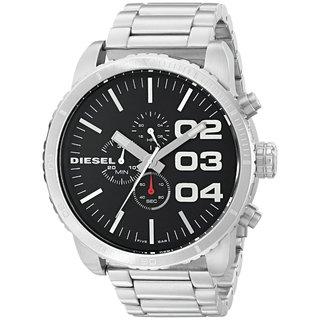 Diesel Men's DZ4209 'Double Down' Chronograph Stainless Steel Watch
