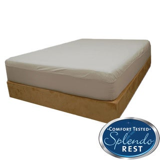 Splendorest Cotton Outlast Cooler Comfort Twin/ Full-size Fitted Mattress Cover
