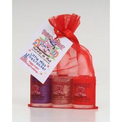 Piggy Paints Non-toxic 'Little Miss Firecracker' Nail Polish Set