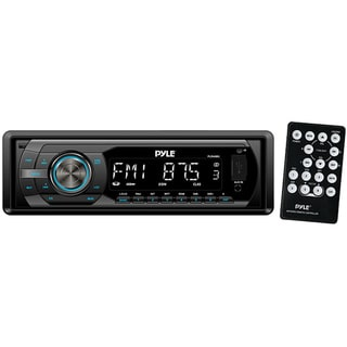 Pyle In-Dash AM/FM-MPX Detachable Face Receiver W/ MP3 Playback USB/SD/Aux Input