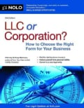 LLC or Corporation?: How to Choose the Right Form for Your Business (Paperback)