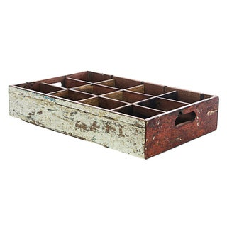 Ecologica Reclaimed Wood Bottle Tray
