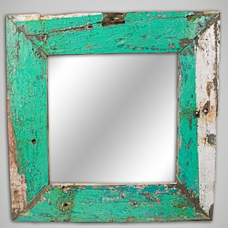 Ecologica Furniture 'Nautical' Reclaimed Wood Mirror