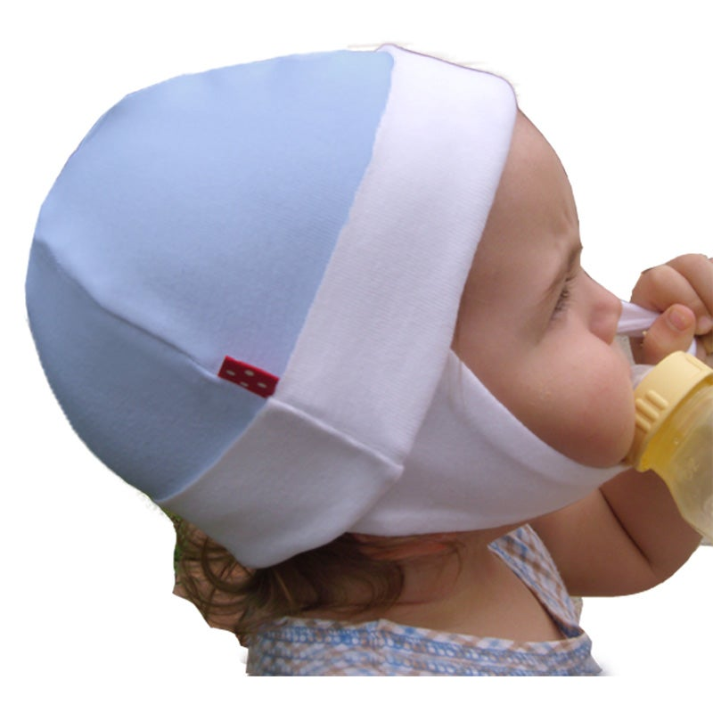Dots on Tots Infant's Organic Cotton Fleece-lined Ear Flap Hat