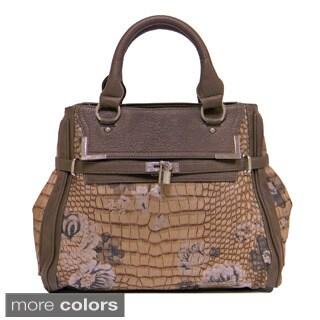 Donna Bella Designs 'Timeless Floral' Hobo Bag