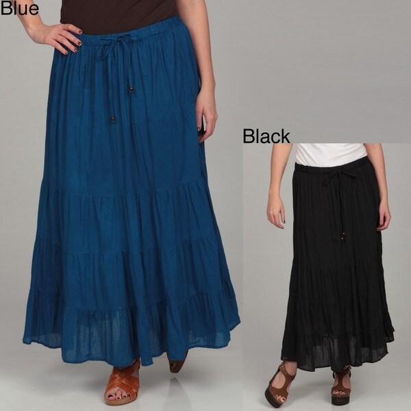 Millenium Women's Plus Size Drawstring Skirt
