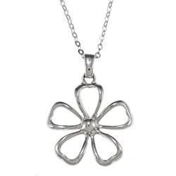 La Preciosa Sterling Silver Daisy Necklace