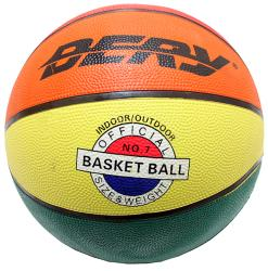 Defender Original Multicolor Indoor/ Outdoor Basketball (Size 7)