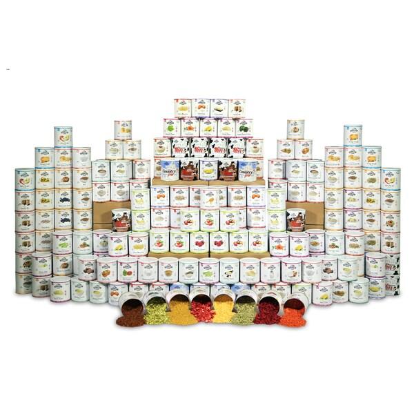 Augason Farms 4-person, 1-year, Emergency Food Storage Kit