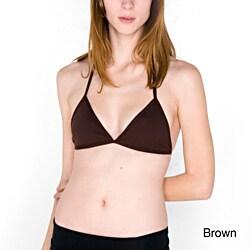 American Apparel Women's Baby Rib Bikini Bra