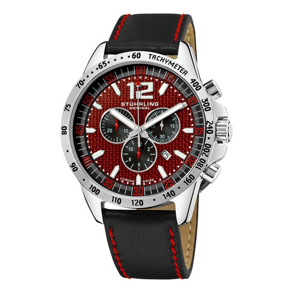 Stuhrling Original Men's Concorso Corale Quartz Chronograph Watch