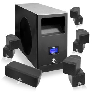 Pyle 5.1 Home Theater System With Active Subwoofer & 5 Satellite Speakers