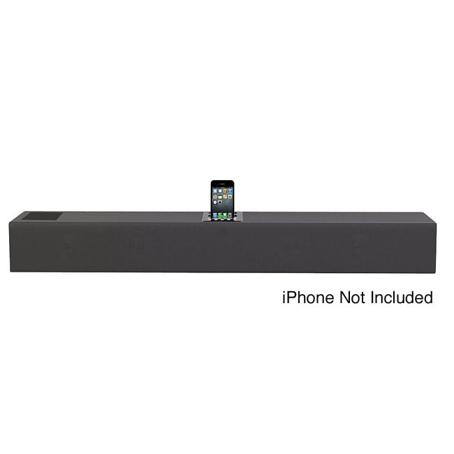 Pyle iPhone/iPod 2.1 Soundbar Docking System with Aux-In and Video Output