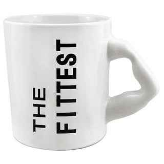 Red Vanilla Fittest White Mugs (Set of 2)