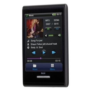 RCA M7208 8 GB Black Flash Portable Media Player