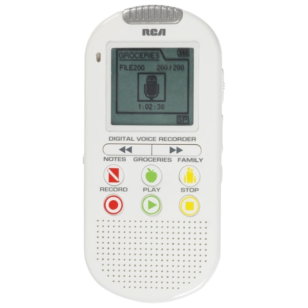 RCA VR5210 2GB Digital Voice Recorder