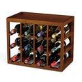 Wine Enthusiast 12-bottle Cube Stack Wine Rack