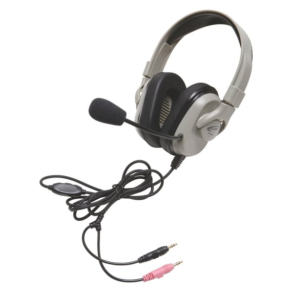 Califone Headphone, Vol, Cntrl, Mic On/Off/Mute, Via Ergoguys