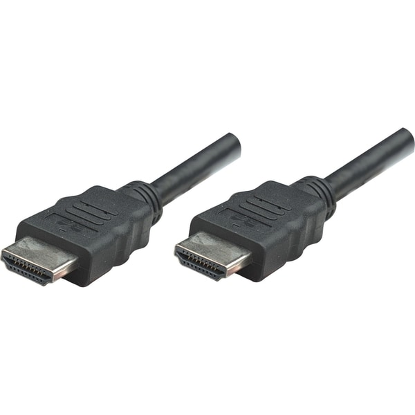 Manhattan HDMI M to M High Speed Shielded Cable with Ethernet, 33', B