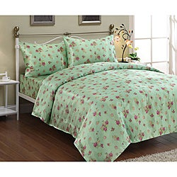 'Audrey' Satin King-size Sheet Set
