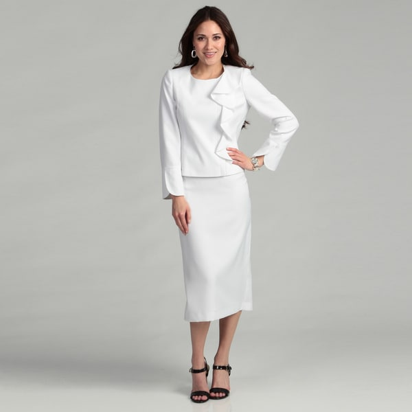 White Skirt Suit For Women 44