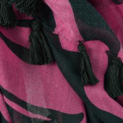 LA77 Women's Colorful Zebra-print Scarf