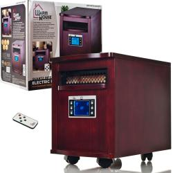Warm House Mahogany Portable Infrared Heater