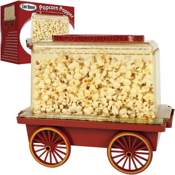 Chef Buddy Popcorn Popper 8790432