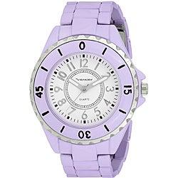 Vernier Women's 'V11025' Spring Lavender Watch