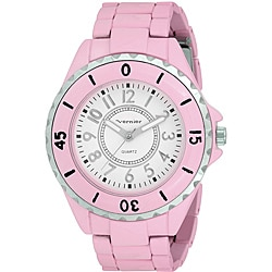 Vernier Women's 'V11026' Spring Light Salmon Watch