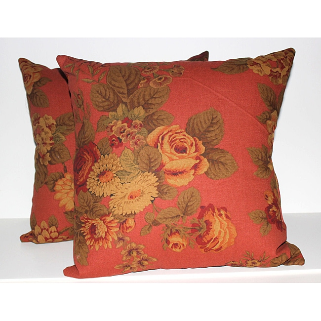 RLF Home Brentwood Decorative Pillows (Set of 2)