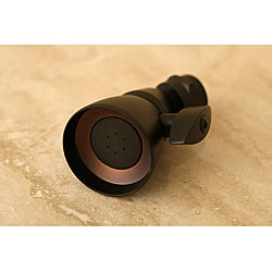 Oil-Rubbed Bronze Solid Brass Adjustable Shower Head