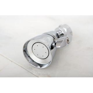 Chrome Solid Brass Adjustable Shower Head