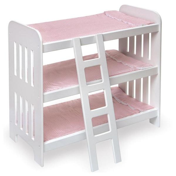 Badger Basket Triple Bunk Bed