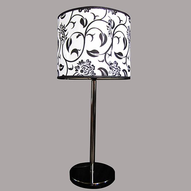 Roly Modern Black Metal Table Lamp
