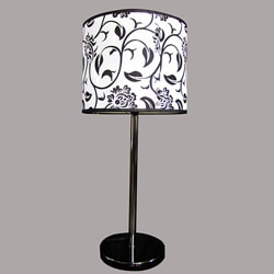 Roly Modern Black Metal Table Lamp
