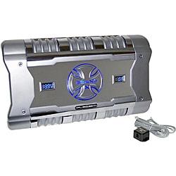 BrandX 1204 Watt 4 Channel Mosfet Amplifier W/ Digital Voltage/Amperage Display