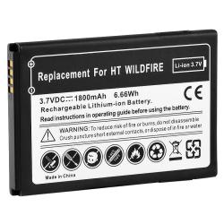 Compatible Li-ion Battery for HTC Wildfire