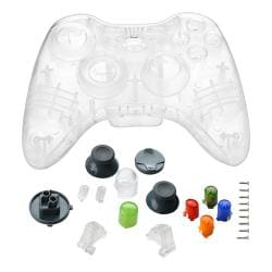 Clear Crystal Shell for Microsoft Xbox 360 Wireless Controller