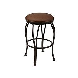 Lexington 26-inch Backless Swivel Counter Stool