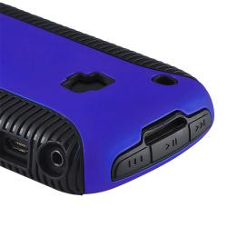 Black TPU/ Blue Hard Hybrid Case for BlackBerry Curve 8520/ 8530/ 9300