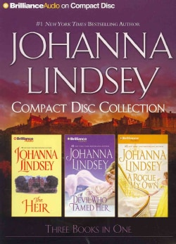 Johanna Lindsey Compact Disc Collection: The Heir / The Devil Who Tamed Her / A Rogue of My Own (CD-Audio)